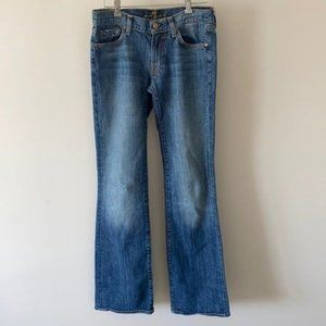 7 for all Mankind Bootcut Mid Rise Jeans Size 27